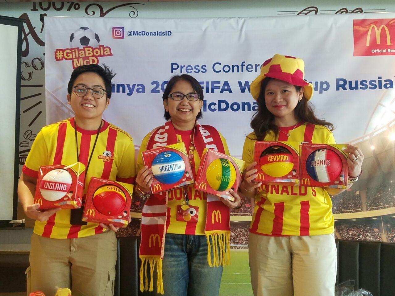 McDonalds Indonesia Luncurkan Program Untuk Piala Dunia