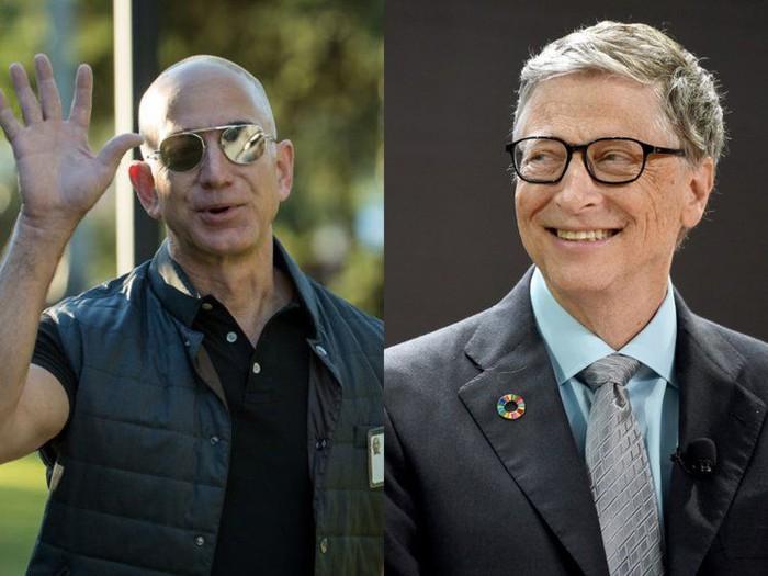 Bos Amazon Kalahkan Kekayaan Bill Gates